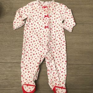 Little Me Footed Bodysuit